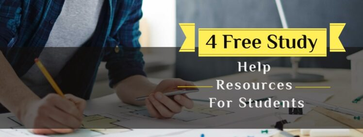 You are currently viewing 4 Free Study Help Resources for Students