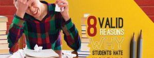 Read more about the article 8 Valid Reasons Why Students Hate Writing